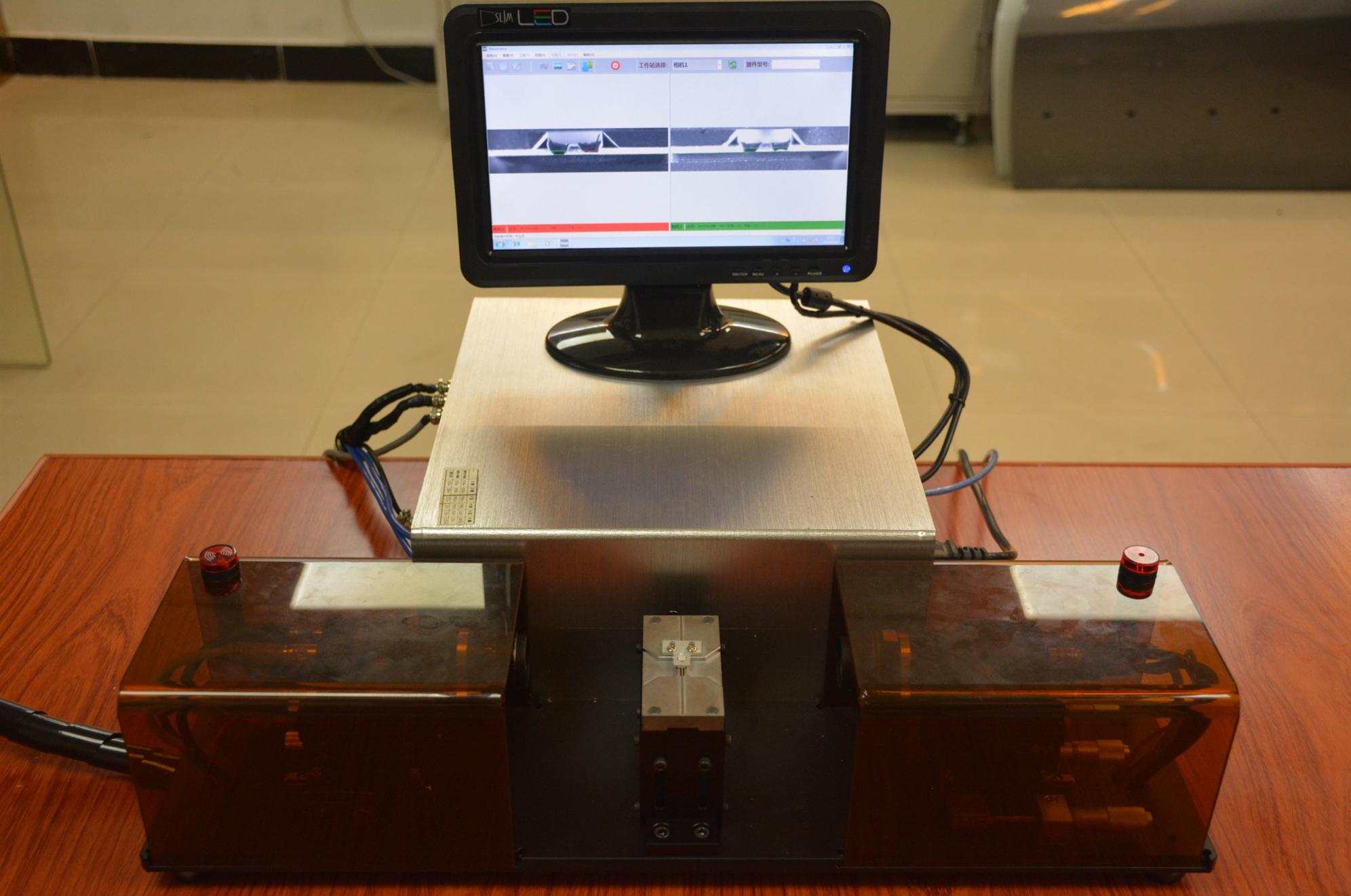 图智能电子元件共面度测试仪 CCD智能视觉检测系统